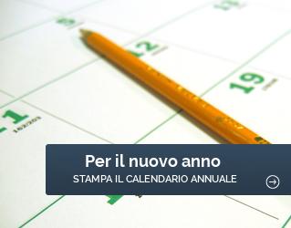 Per il 2018, stampa il calendario annuale